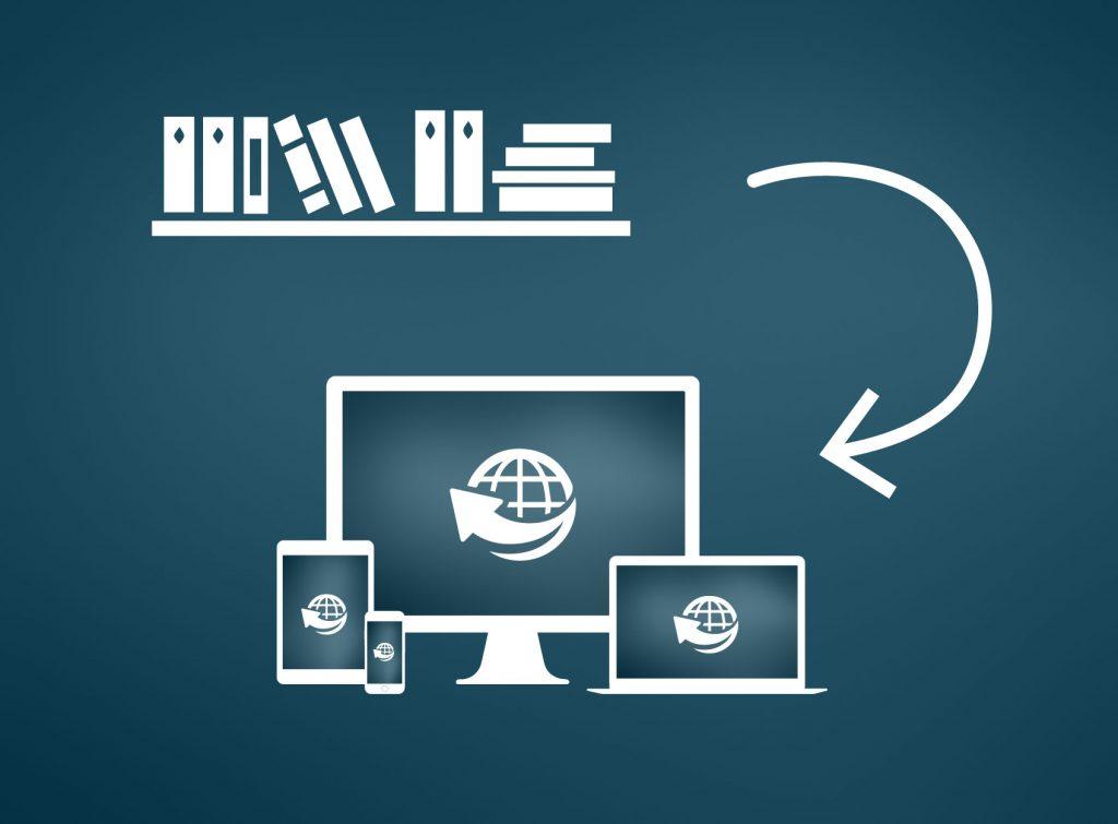 Bringing Scanned Material Online