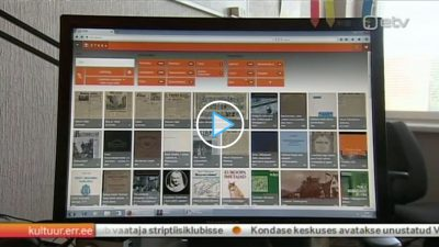 Estonian National Television publishes a report on ETERA Digital Library