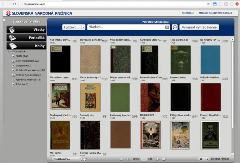 The National Library of Slovakia selects Geneza MediaINFO