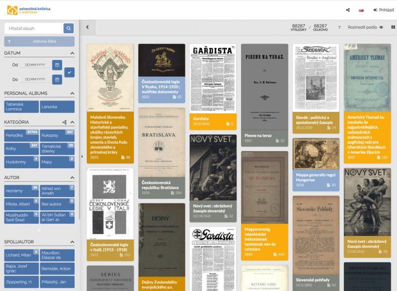 The University Library in Bratislava, Slovakia selects MediaINFO as its digital library platform